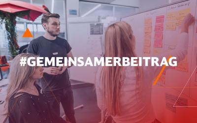 #GemeinsamerBeitrag – Gemeinsam gehen wir die aktuellen Herausforderungen an!